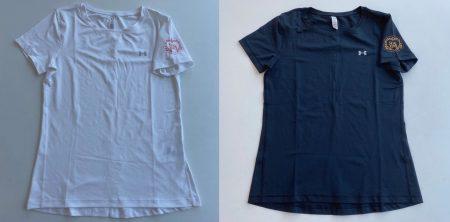 Tシャツ ①白 / ②黒